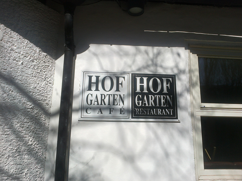 Hofgarten Cafe Und Bar Innsbruck All Inn At Der