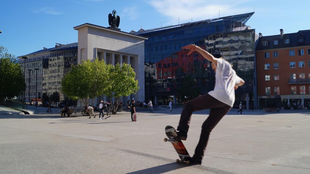 Skateboarden Innsbruck