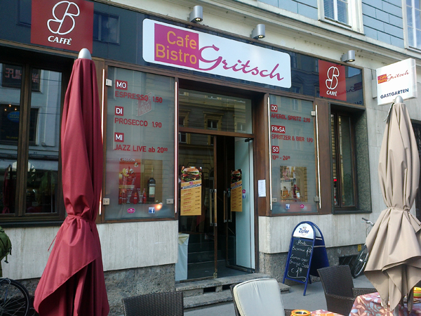 Cafe Gritsch Innsbruck