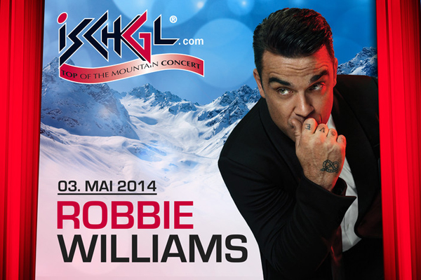 Robbie Williams live in Ischgl