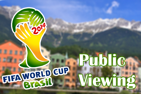 Public Viewing in Innsbruck 2014