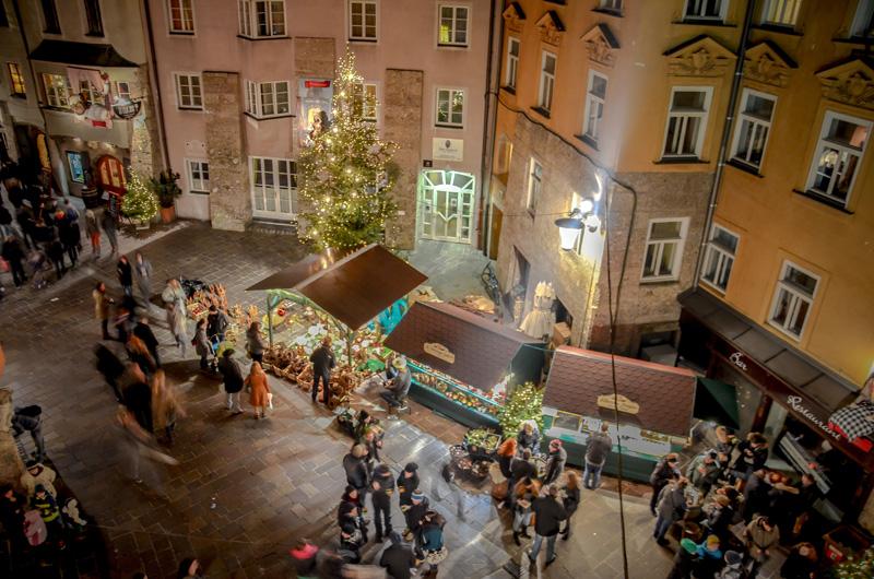 Weihnachtsmarkt in Innsbruck 2014
