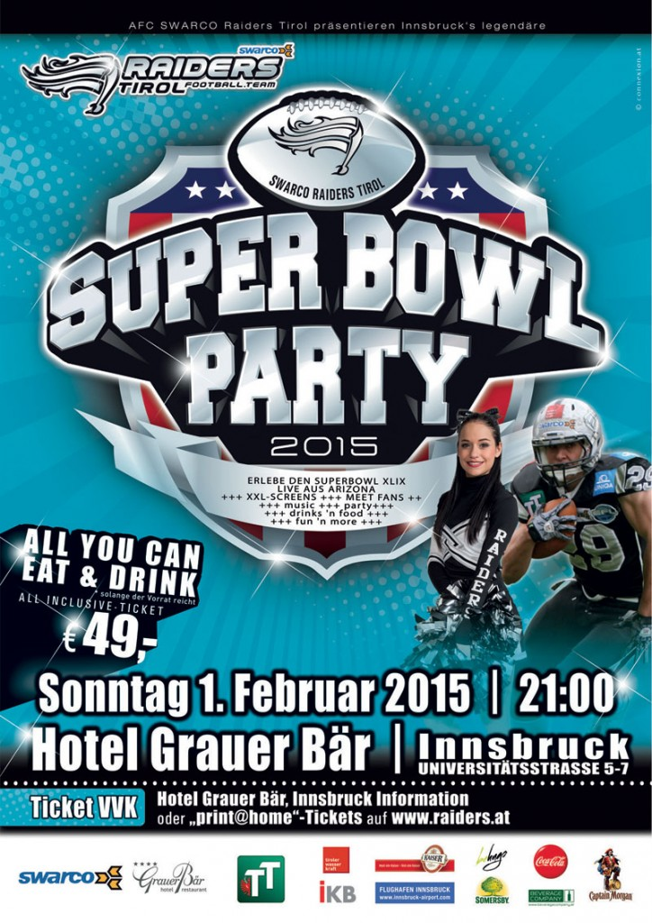 Swarco Raiders Super Bowl Party 2015