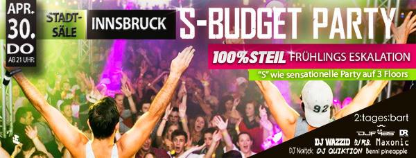 S-Budget Party Innsbruck